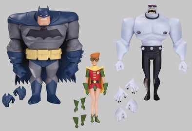 Batman: The Animated Series - Batman, Robin, Mutant Leader 3 Pack