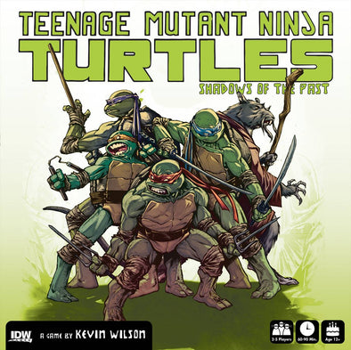 Teenage Mutant Ninja Turtles: Shadows of the Past Board Game