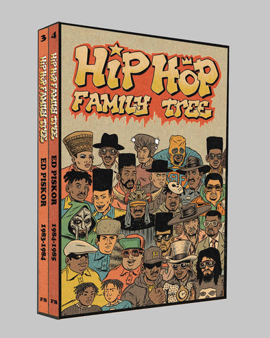 Hip Hop Family Tree GN Box Set Vol. 02 (1983-1985)