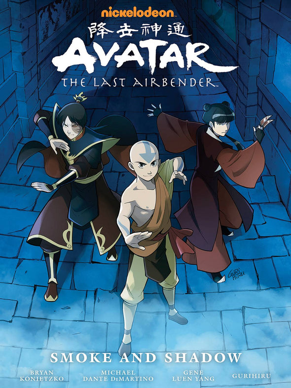 Avatar: The Last Airbender Library HC: Smoke & Shadow