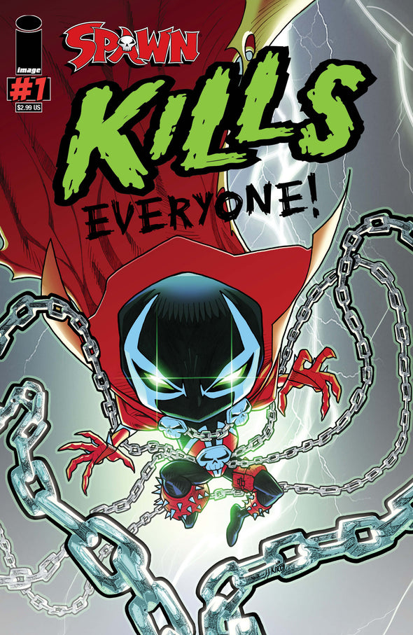 Spawn Kills Everyone (2016) #01 (J.J. Kirby Cover)
