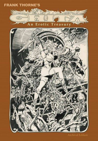 Frank Thorne Ghita Erotic Treasury HC (Signed by Frank Thorne)