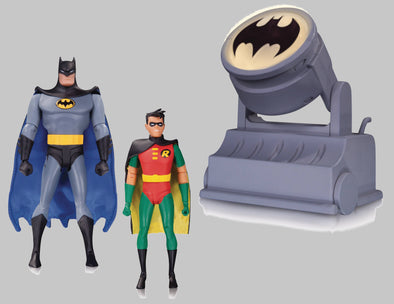 Batman: The Animated Series - Batman/Robin Batsignal 2 Pack