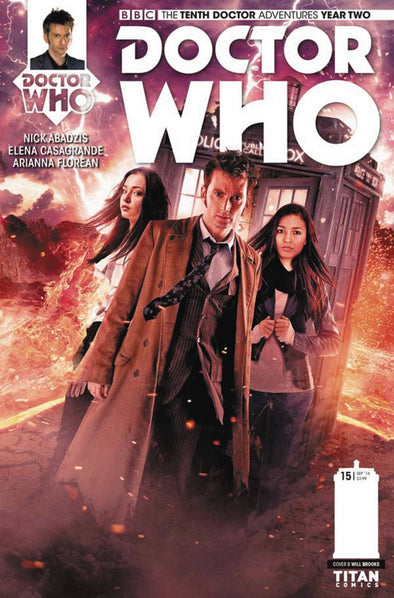 Doctor Who 10th (2015) #15 VARIANT COVER