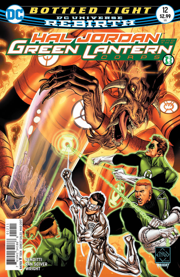 Hal Jordan and The Green Lantern Corps (2016) #12