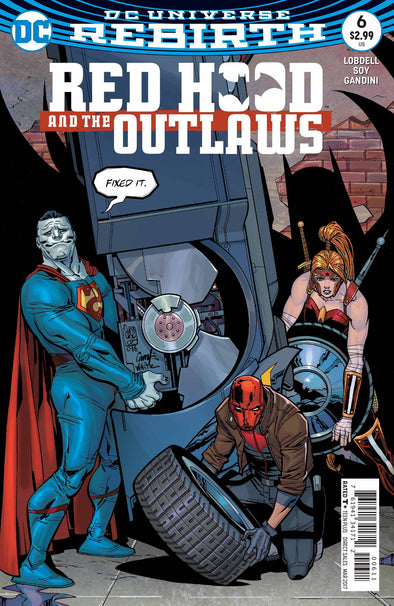 Red Hood and the Outlaws (2016) #06
