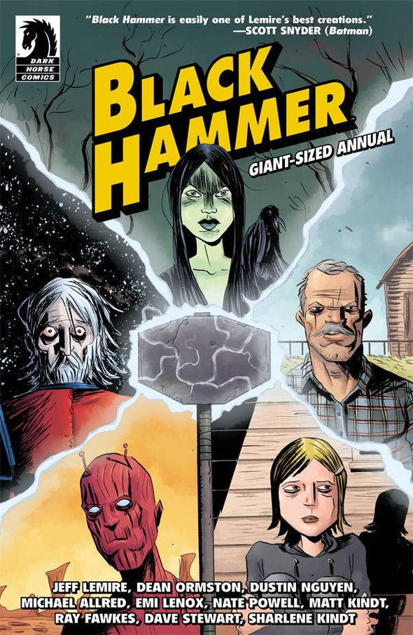 Black Hammer Giant-Sized Annual (2016) #01