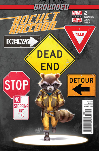 Rocket Raccoon (2016) #02