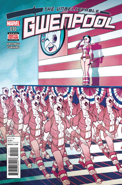 Gwenpool, The Unbelievable (2016) #10