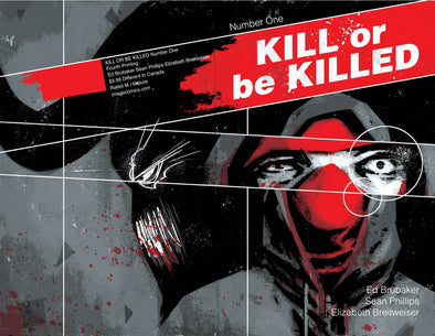 Kill or Be Killed (2016) #01 (4th Printing)