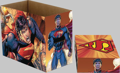 DC Superman Flying Short Comic Box