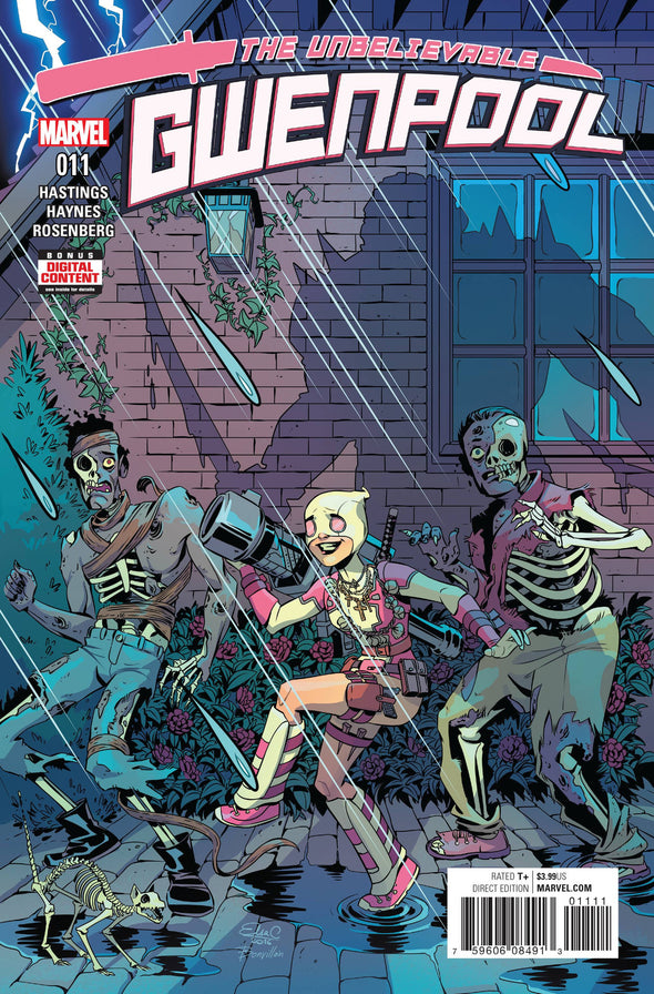 Gwenpool, The Unbelievable (2016) #11