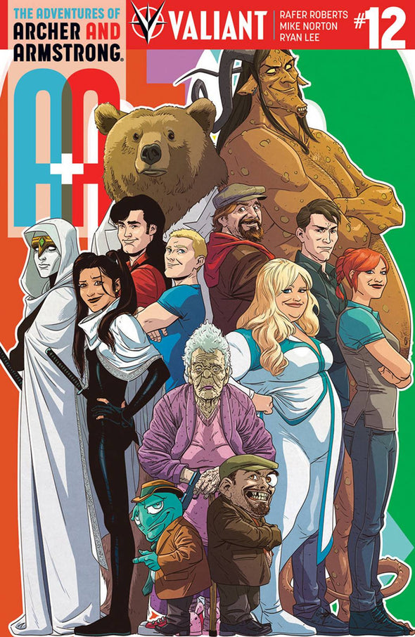 A&A: The Adventures of Archer & Armstrong (2016) #12