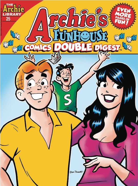 Archie Funhouse Comics Double Digest #25