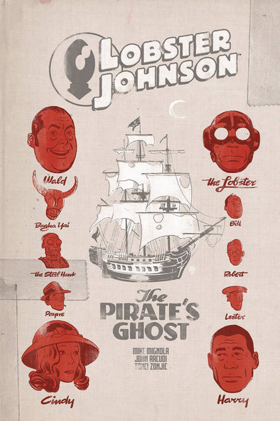 Lobster Johnson: Pirates Ghost #01