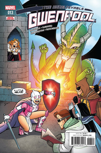 Gwenpool, The Unbelievable (2016) #13