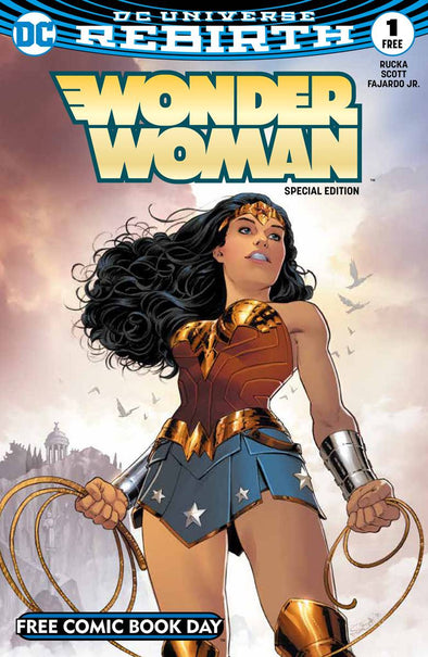 FCBD 2017 Wonder Woman Special Edition