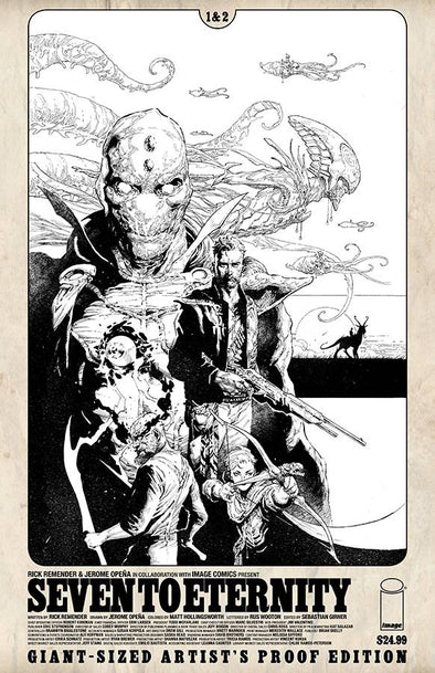 Image Giant Sized Artist Proof ED: Seven to Eternity #01 & 02