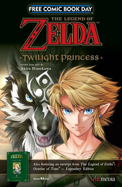 FCBD 2017 Legend of Zelda Twilight Princess