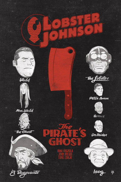 Lobster Johnson: Pirates Ghost #02