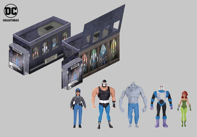 Batman Animated GCDP Rogues Gallery AF 5 Pack