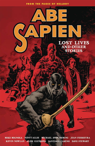 Abe Sapien TP Vol. 09: Lost Lives & Other Stories