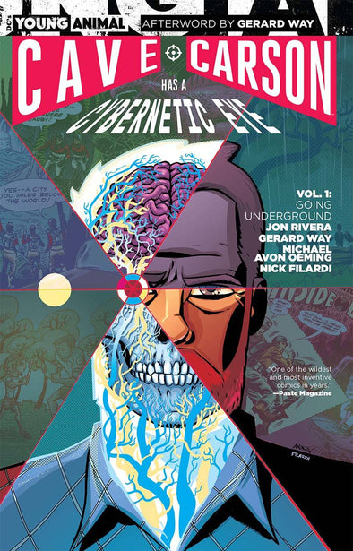 Cave Carson Has a Cybernetic Eye (2016) TP Vol. 01: Going Underground