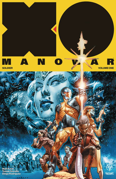 X-O Manowar (2017) TP Vol. 01: Soldier