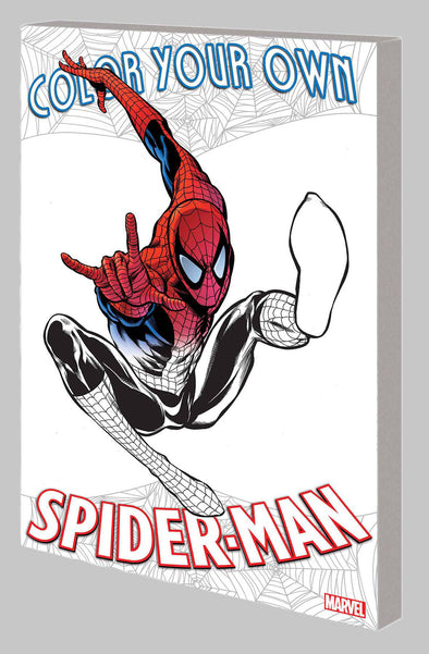 Colour Your Own Spider-Man