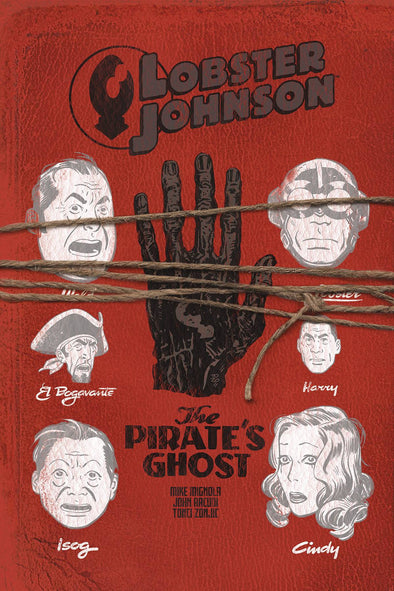 Lobster Johnson: Pirates Ghost #03
