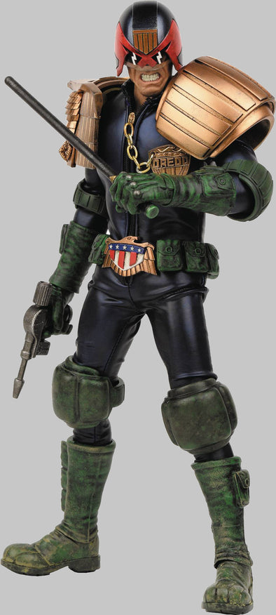 2000 AD x Threea Apocalypse War Judge Dredd 1/6 Scale Figure