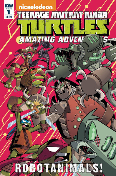 Teenage Mutant Ninja Turtles: Amazing Adventures Robotanimals (2017) #01