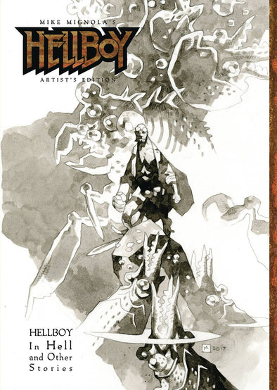 Mike Mignola Hellboy Artist Edition HC