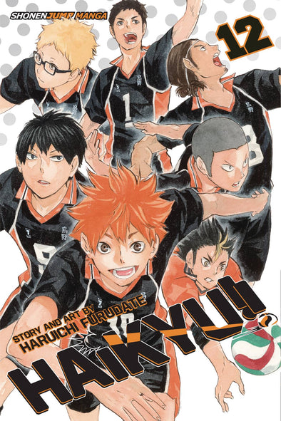 Haikyu TP Vol. 12