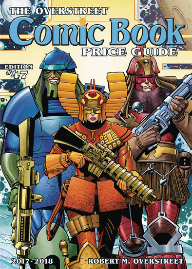 Overstreet Comic Book Price Guide TP Vol. 47 (Hall of Fame Star Slammers Cover)