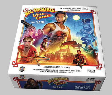 Big Trouble Little China Board Game