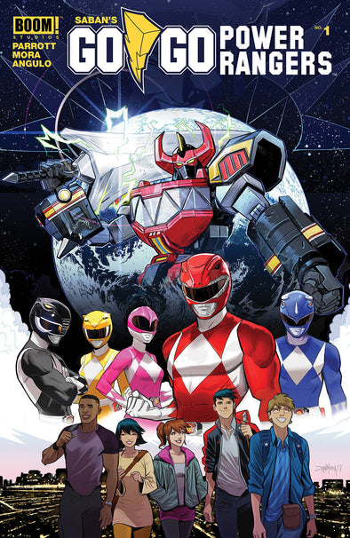 Go Go Power Rangers (2017) #01