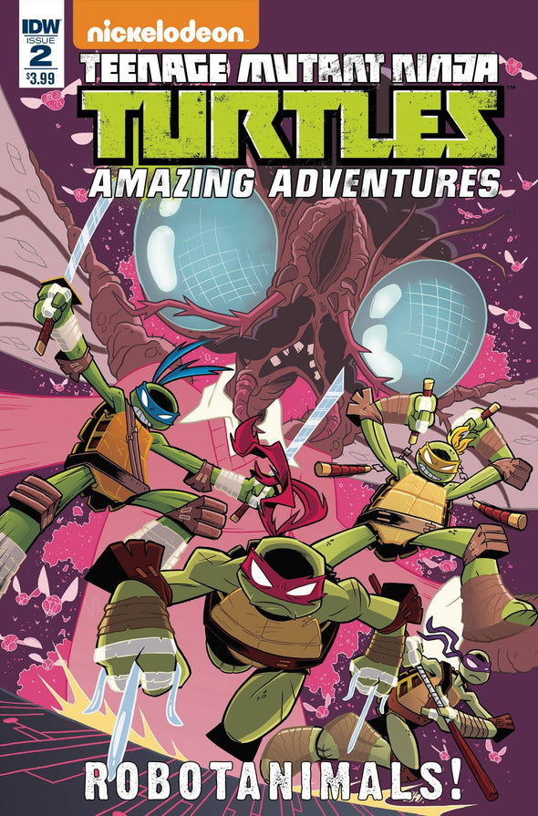 Teenage Mutant Ninja Turtles: Amazing Adventures Robotanimals (2017) #02