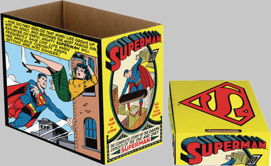 DC Superman Panel Short Comic Box