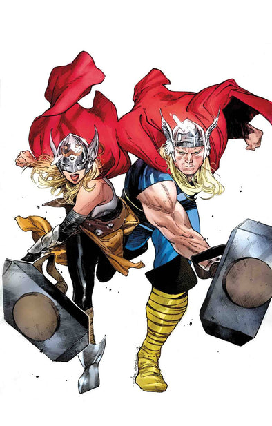 Generations: Unworthy Thor & Mighty Thor by Coipel Poster