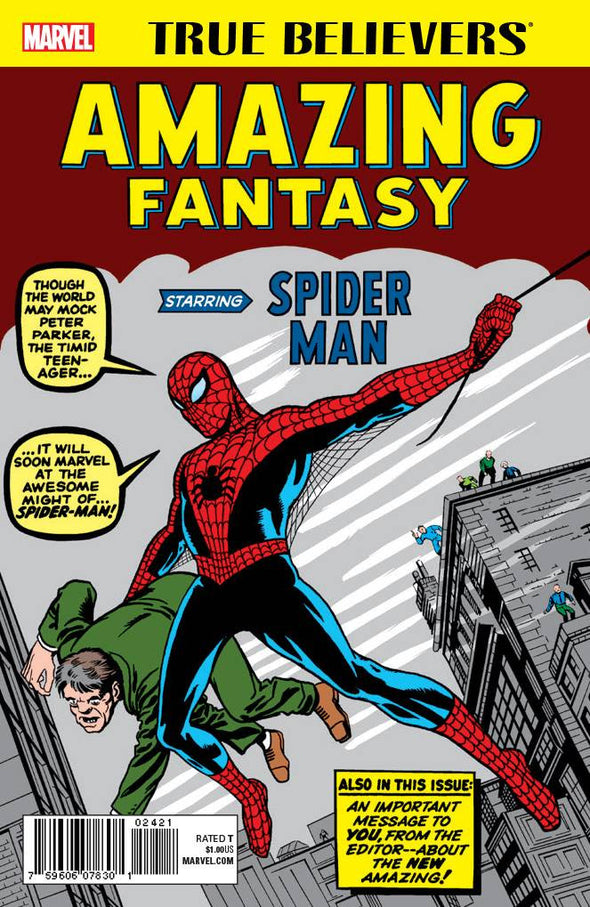 True Believers: Amazing Fantasy Starring Spider-Man #01