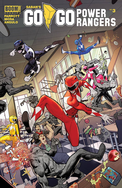 Go Go Power Rangers (2017) #03