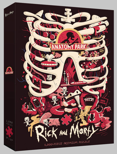 Rick & Morty Anatomy Park Puzzle