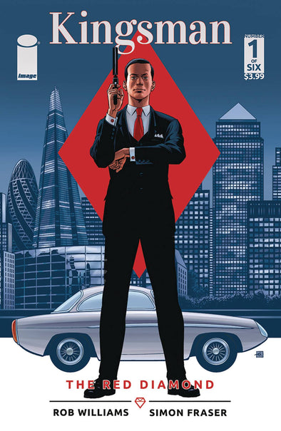 Kingsman: The Red Diamond (2017) #01 (Dave Gibbons Cover)