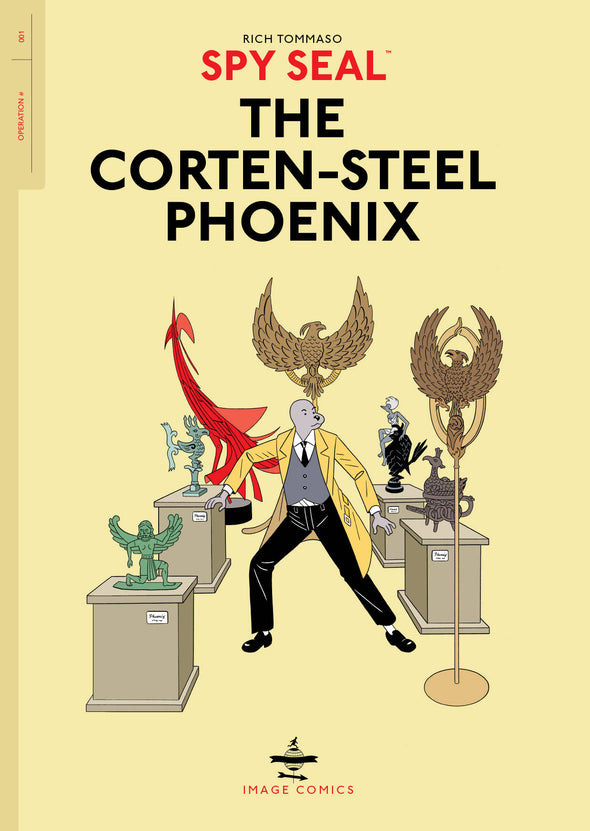 Spy Seal TP Vol. 01: Corten-Steel Phoenix