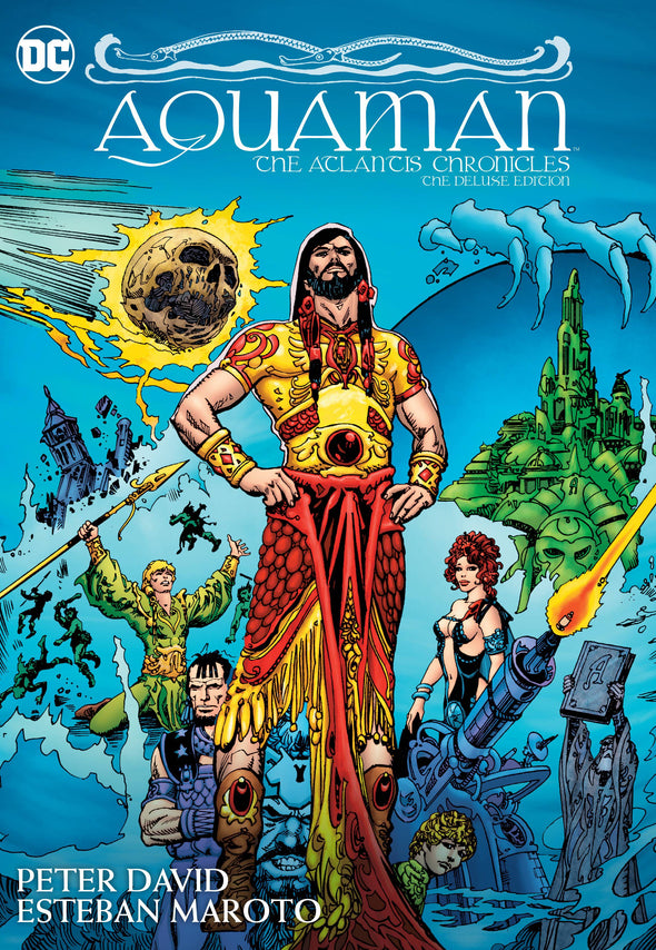 Aquaman: The Atlantis Chronicles DLX HC
