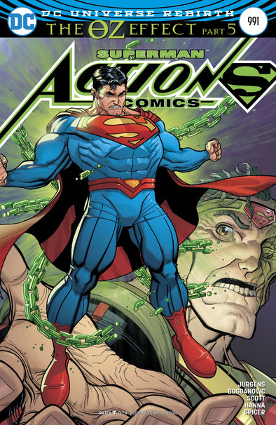 Action Comics (2016) #0991 (Lenticular Cover)