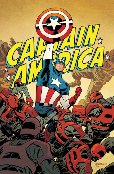 Captain America #695 Chris Samnee Poster