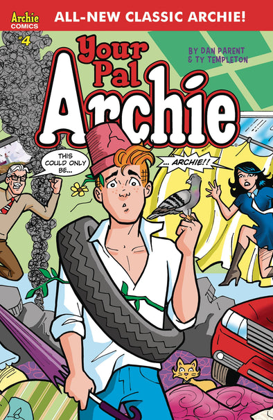 All-New Classic Archie: Your Pal Archie (2017) #04