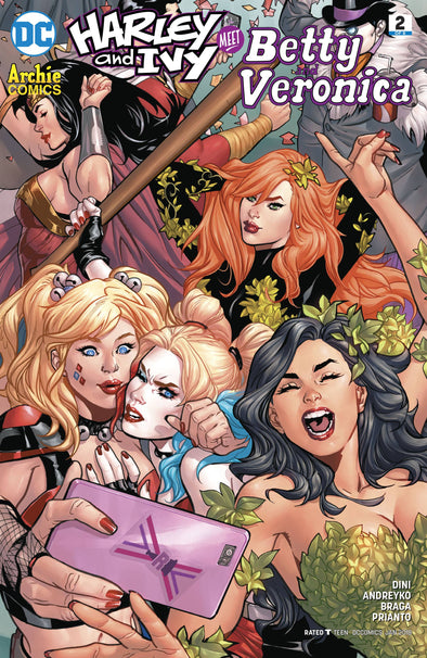 Harley & Ivy Meet Betty and Veronica (2017) #02